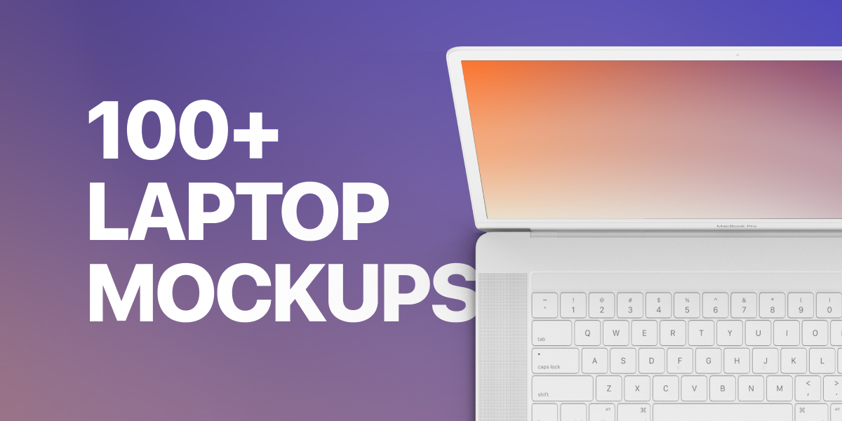 The ultimate collection of laptop mockups for 2021