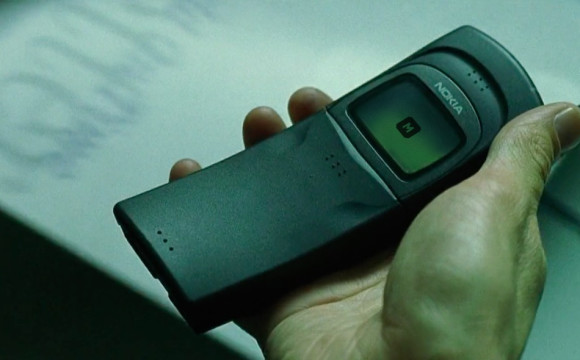 Matrix - Neo received secret package with Nokia 8110