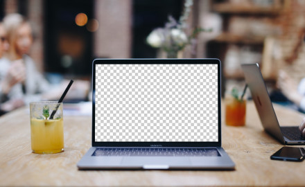 Photoshop mockup with smart objects