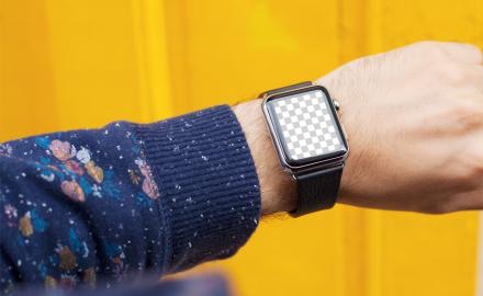 Customizable Apple Watch mockup