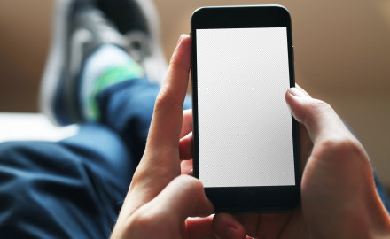 iPhone 6 mockup Space Gray