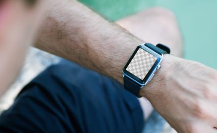Hi-Res Apple Watch mockup