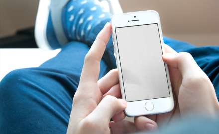 Customizable iPhone SE mockup