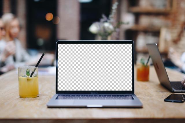 Stylish Free Macbook Pro PSD Mockup