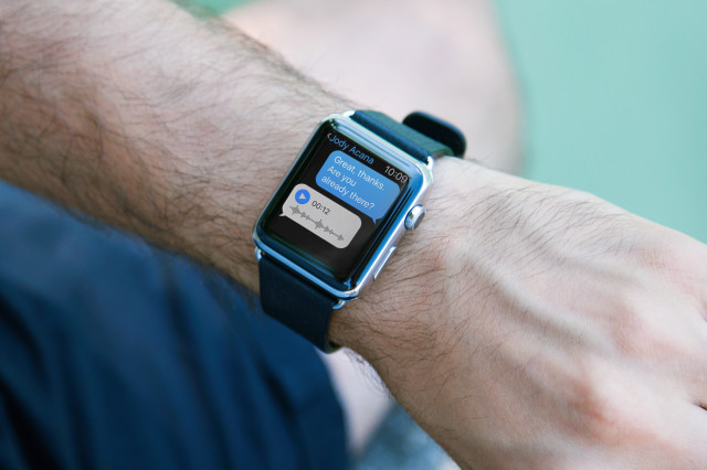 Apple Watch mockup Example of Usage