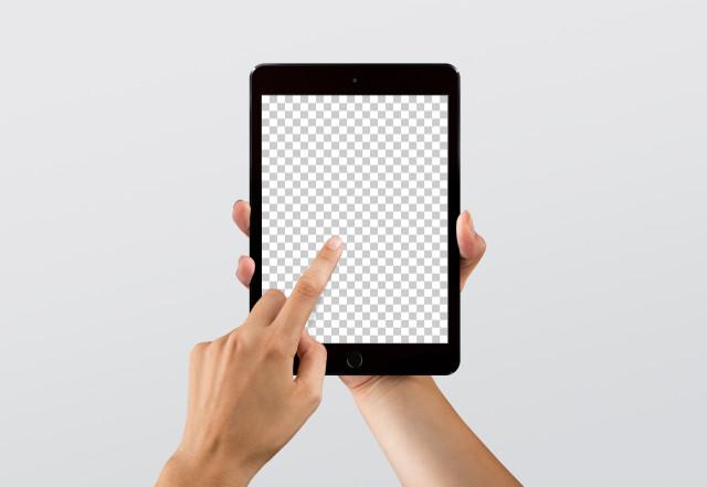 Free iPad mini mockup