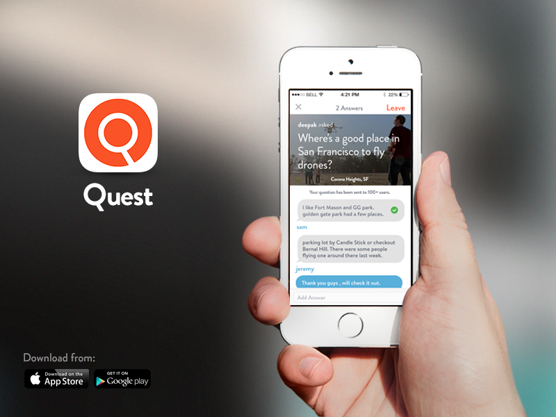 User Interface - Quest