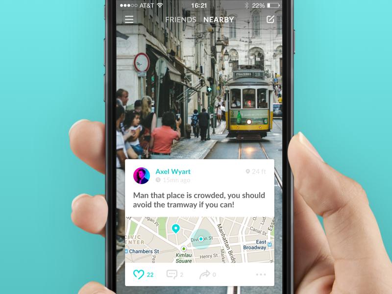 Homepage Hinter App