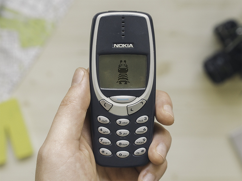 Zebra on Nokia 3310