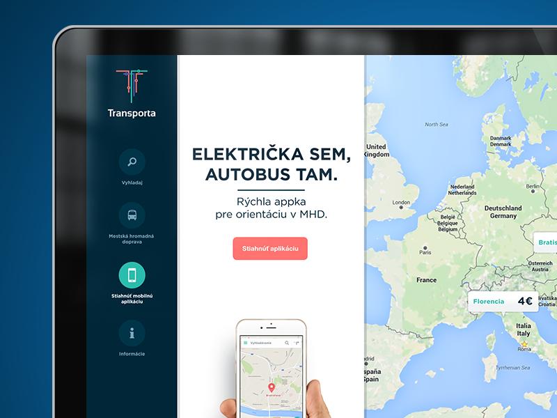 TRANSDATA - web / concept