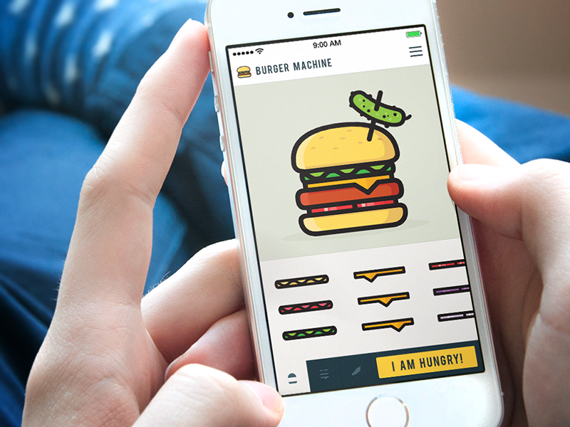 Burger Machine App