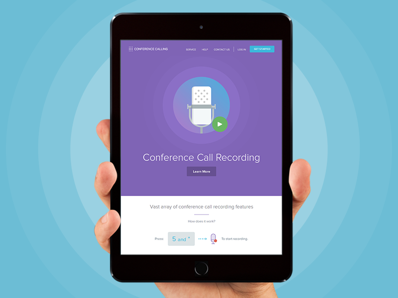 Conference Calling - Recording