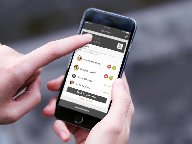 Pickaseat / Carpooling app