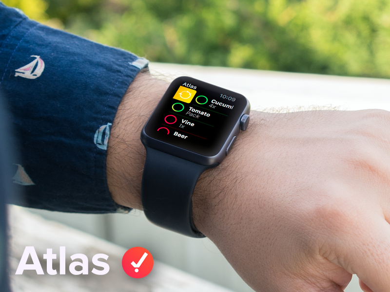 Atlas - Apple Watch app