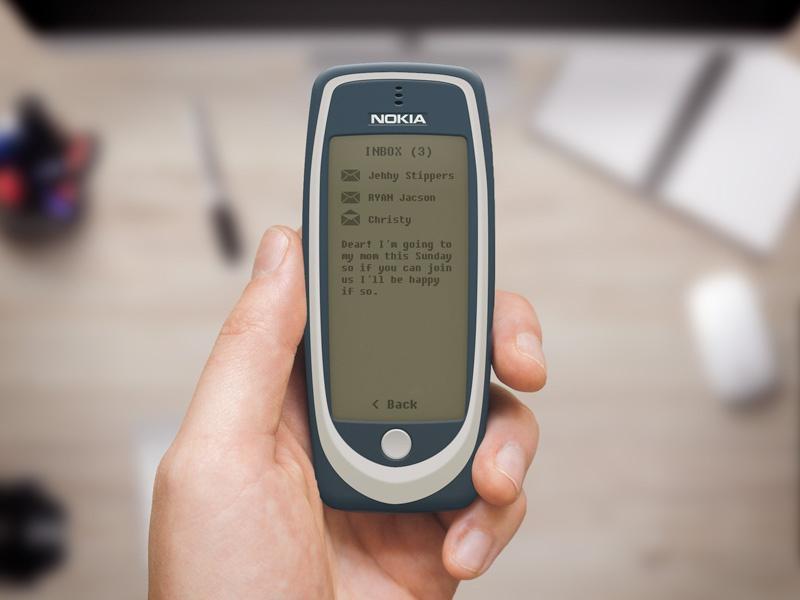 Nokia 3310 Fullscreen