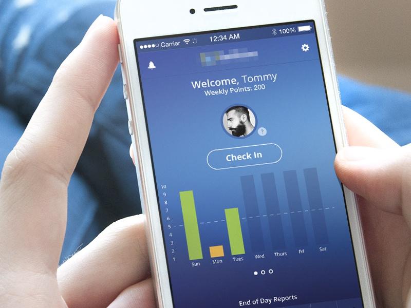 ios7 Mobile Application- UI/UX