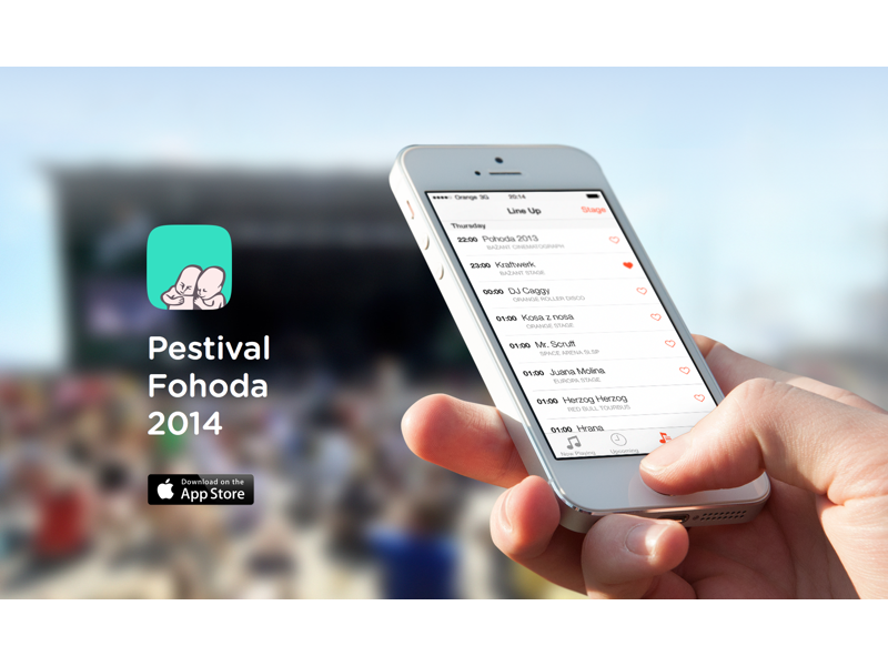Pestival Fohoda 2014 Banner