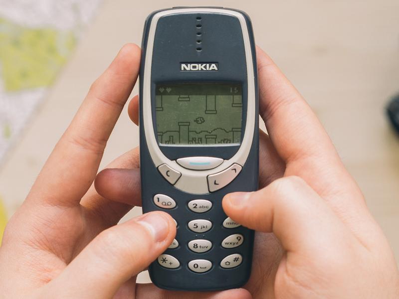 Flappy Bird - Nokia 3310 Version (Available on Nokia Store)